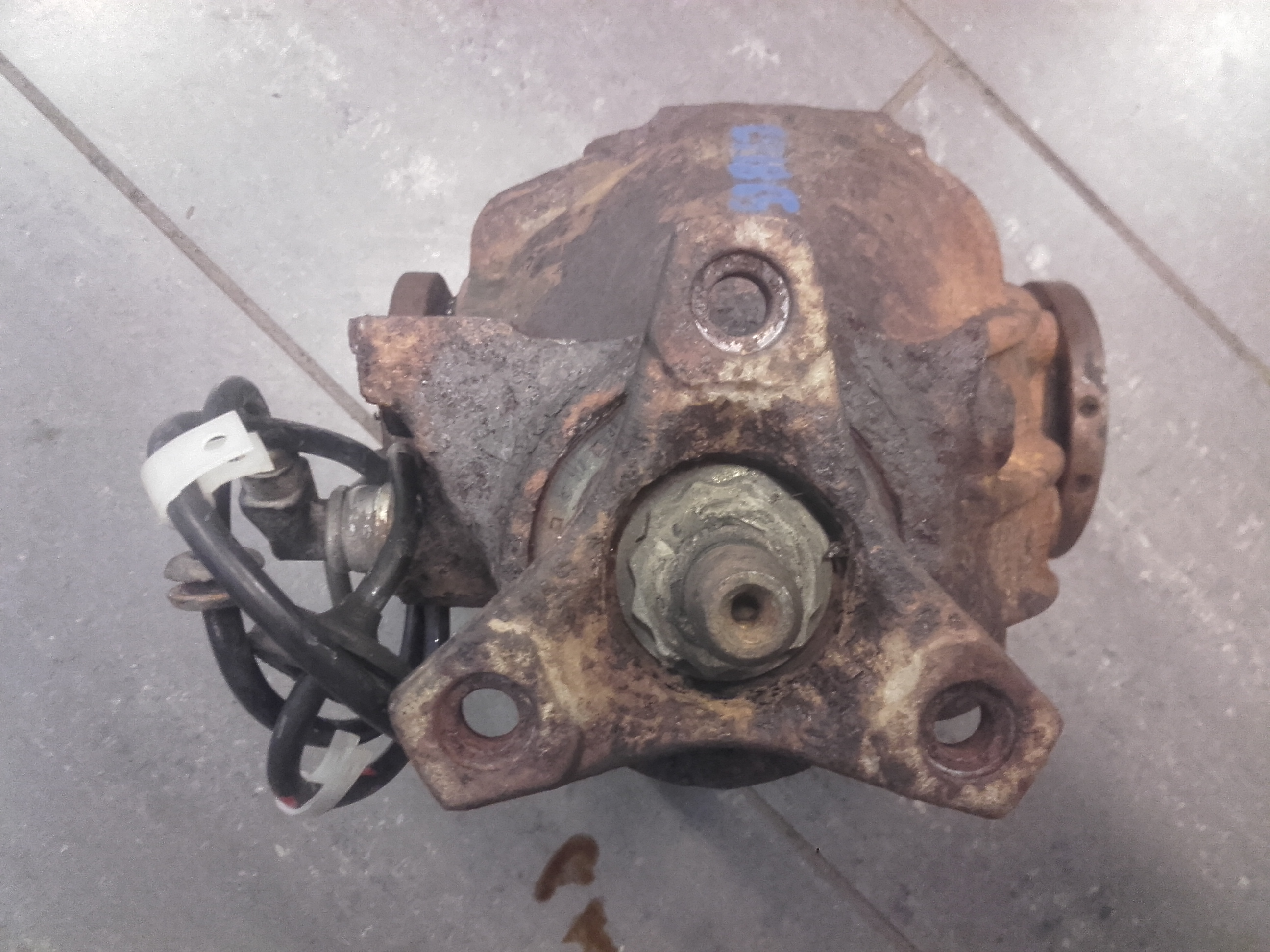 Details about ORIGINAL Rear axle assembly lump rear MERCEDES-BENZ E-CLASS  (W124) 1993